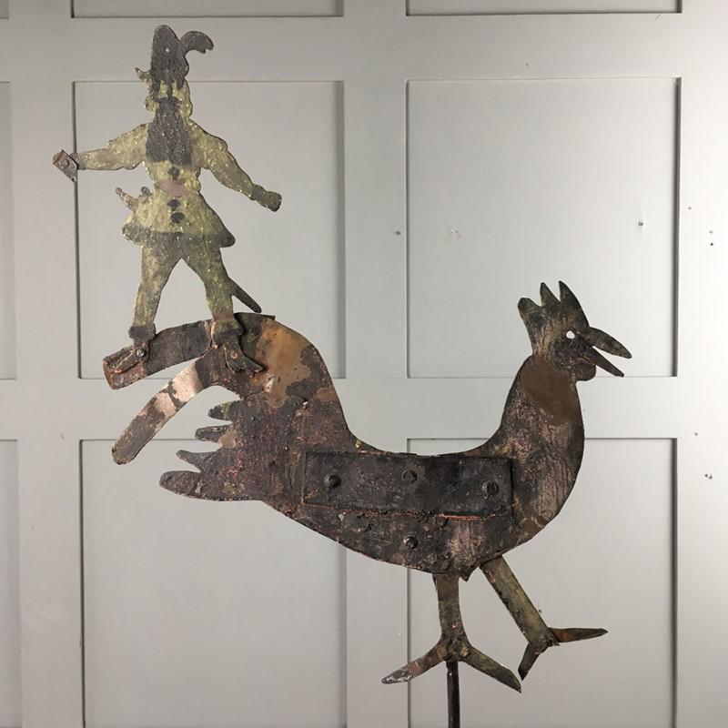 Antique metal weathervane - cockerel-marc-kitchen-smith-ks6973-img-5526-1000px-main-637153993436772926.jpg