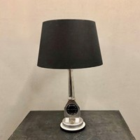 An Automobilia Table Lamp