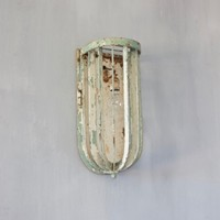 An original Art Deco wall lantern