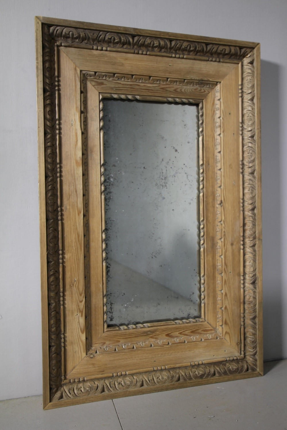 136af4461ba9 Zoom  19th Century English Antique Carved Pine Mirror-miles-griffiths- antiques-img-