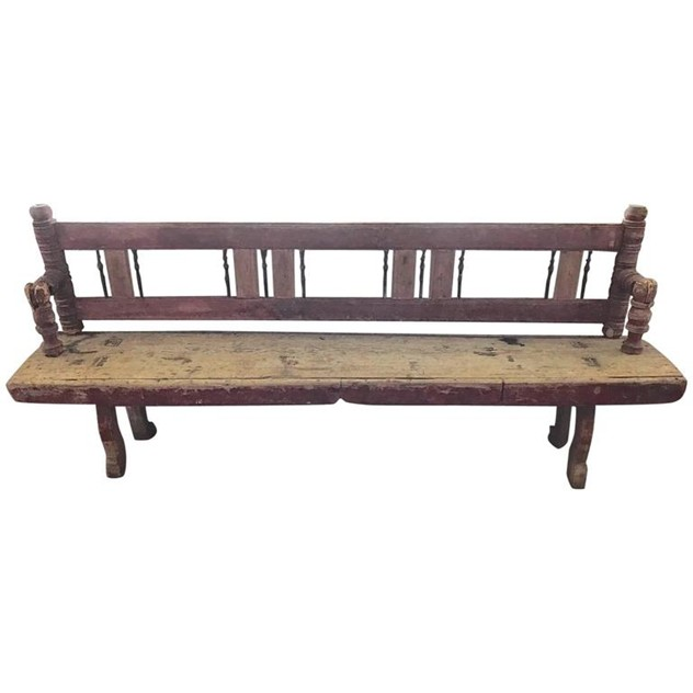 18th Century Folding Bench, Original Painting-millqvist-antik-interior-6967483_l_main_636257777961385864.jpg