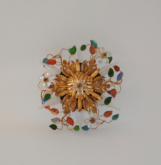 Ceiling / wall light in the style of Maison Bagues-milos-antiques-fullsizeoutput_139_main_636551460684843472.jpeg