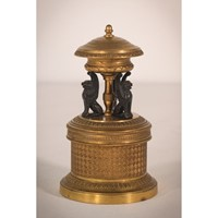 Bronze Empire Inkwell