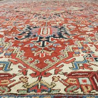 Antique Heriz Carpet 1910-20