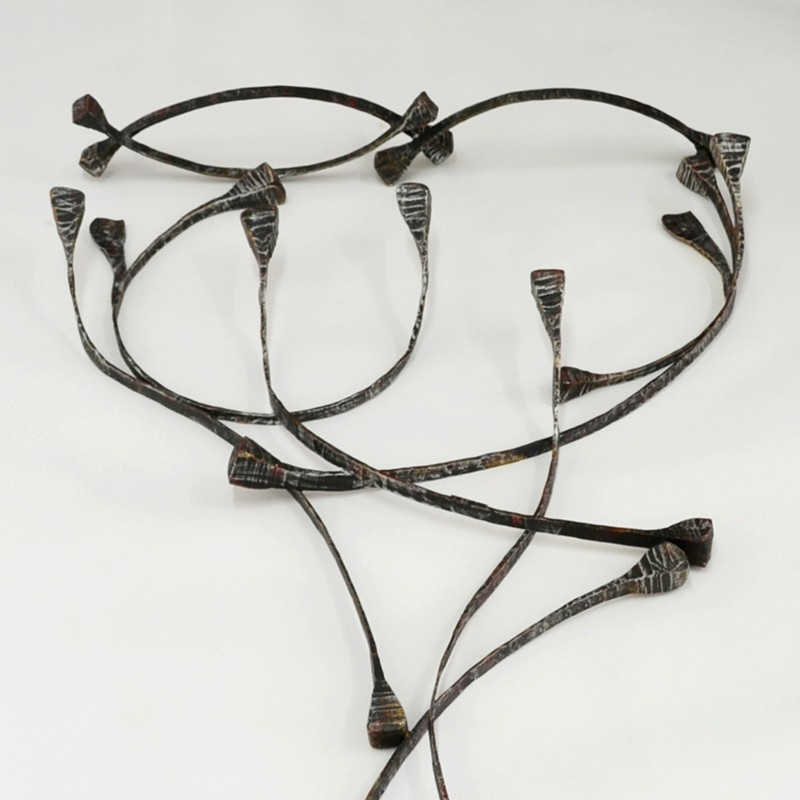1960s Sculptural Coat Hanger by Salvino Marsura-moioli-gallery-Marsura coat hooks-detail 1-main-636597256639859239.jpg