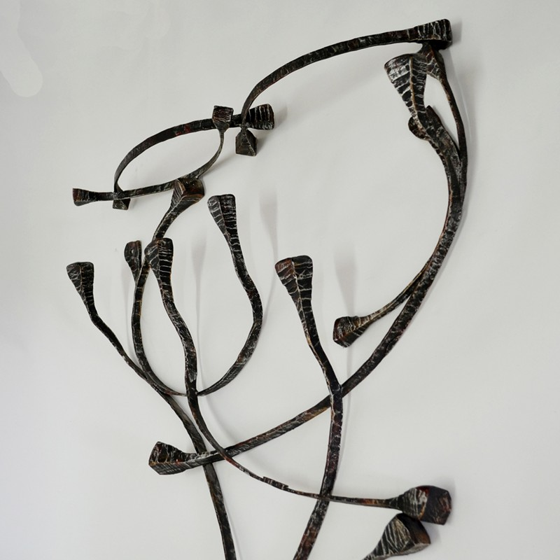 1960s Sculptural Coat Hanger by Salvino Marsura-moioli-gallery-Marsura coat hooks-detail 4-main-636597256703666511.jpg