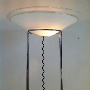 "Rare Floor Lamp ""Melaina""  by R.Toso-1968"