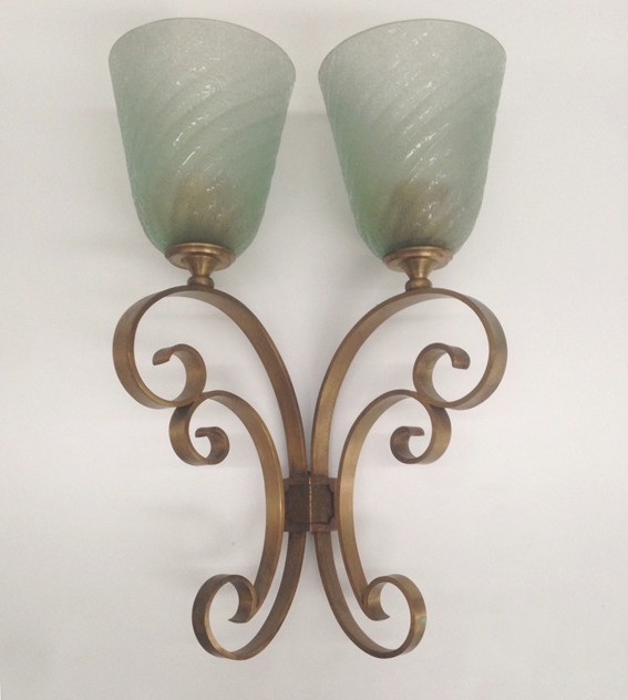 1950's Large Pair of Wall Lights by P.Colli-moioli-gallery-appliques Colli 3_main_636229362519682977.jpg