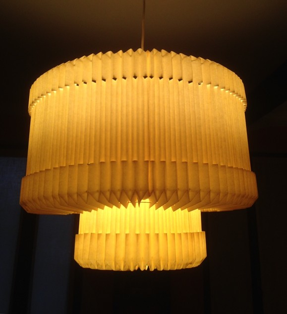 21C pleated ceiling light by Graham Bibby-moioli-gallery-ceiling light Graham 2_main_635932109721542221.jpg