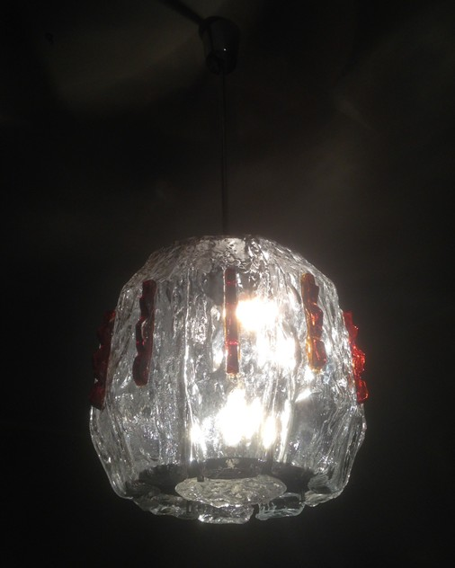 1970's Ceiling light attributed to  Mazzega -moioli-gallery-ceiling light mazzega egg shape 1_main_636094716130001968.jpg