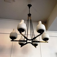 1950's Ceiling Light attributed to Stilnovo