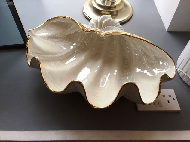 1960's Large Ceramic Shell-moioli-gallery-conchiglia di ceramica 1_main.JPG
