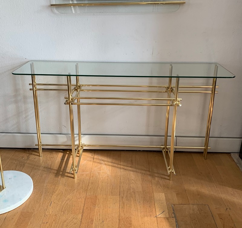 1970s Console, Mirror and Coat Hanger by Zevi-moioli-gallery-console-mirror-coathanger-brass-2-main-636961022281732864.jpg