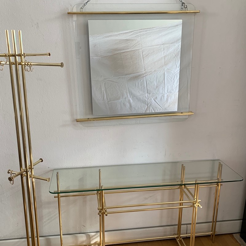 1970s Console, Mirror and Coat Hanger by Zevi-moioli-gallery-console-mirror-coathanger-brass-main-636961022824264042.jpg