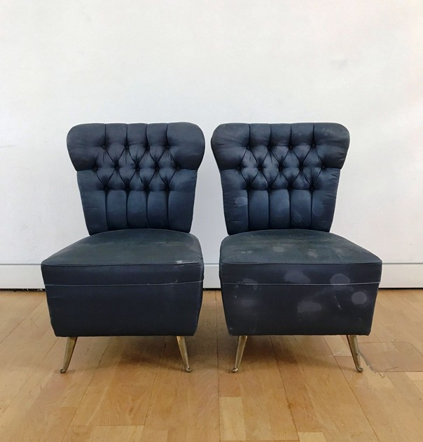 1950's Pair of Low Side Chairs by ISA -moioli-gallery-coppia poltroncine blu  ISA da camera_main_636363334676925450.JPG