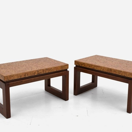 1950s Pair of Side Tables by Paul Frankl
