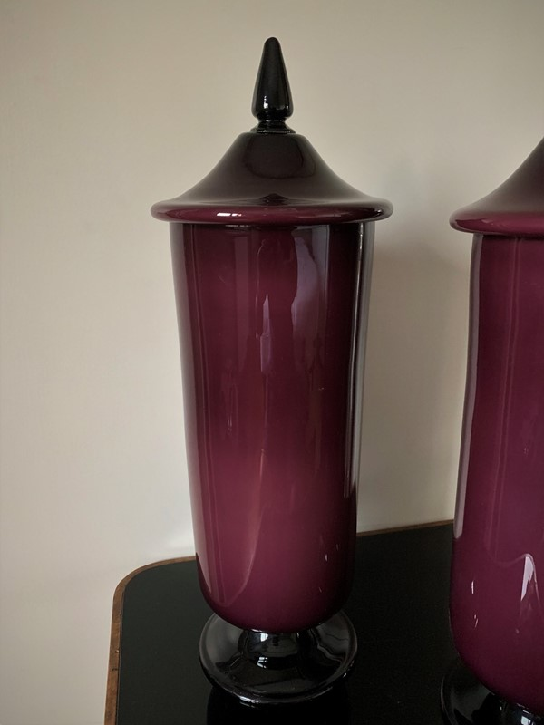 Pair of 50s Murano Glass Vases/Urns/Jars -moioli-gallery-coppia-vasi-viola-in-vetro-di-murano-1-main-637037897243306300.jpg