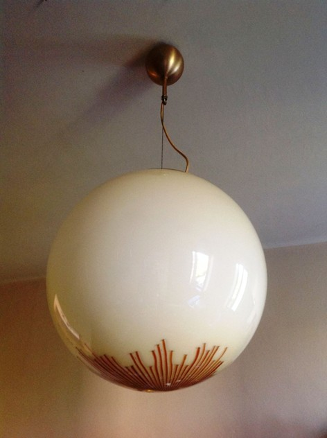 1970's Large Glass Ball Pendant by La Murrina-moioli-gallery-grande palla la murrina Misure diam 50 h 100_main_636104894106086604.JPG