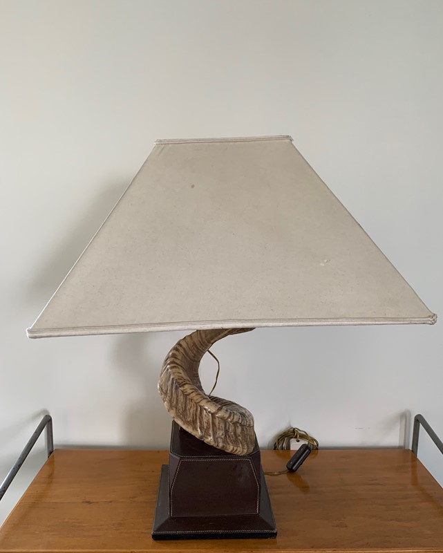 1970s Gucci Table lamp Base -moioli-gallery-horn-table-lamp-by-gucci-7-main-636933698633281643.jpg