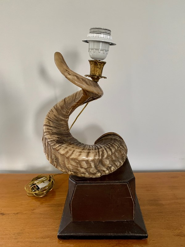1970s Gucci Table lamp Base -moioli-gallery-horn-table-lamp-by-gucci-main-636933699030062256.jpg