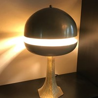 1970s Sculptural Table Lamp by L. Frigerio