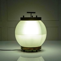 Rare Table Lamp Mod.3302 by Tito Agnoli