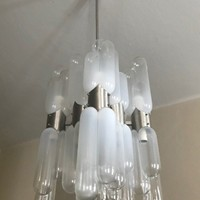 1960 Torpedo Ceiling Light by C.Nason for Mazzega
