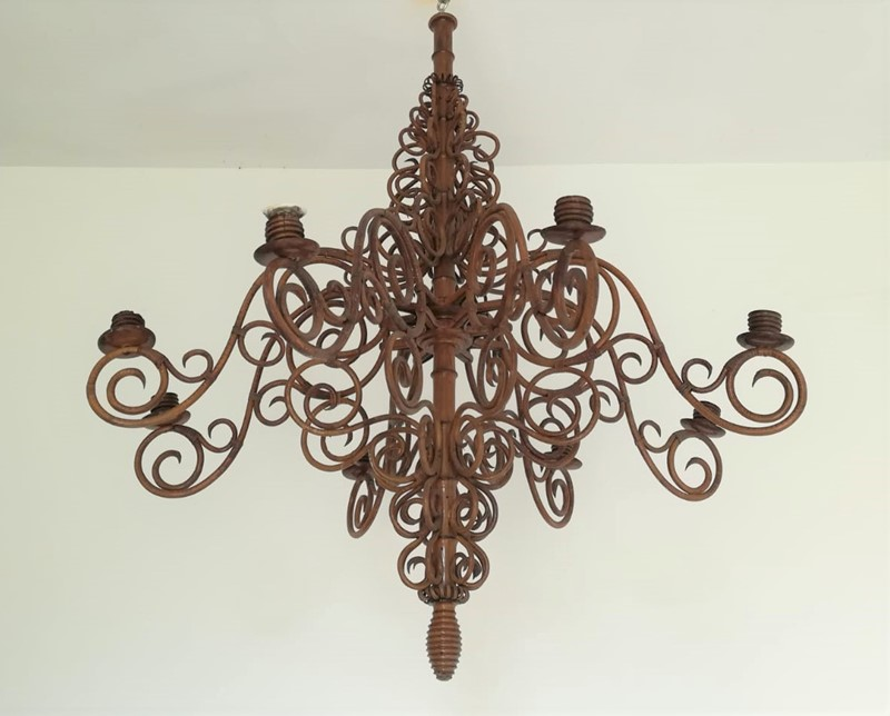 Bamboo and Wicker Ceiling Fixture - Candel Holder-moioli-gallery-lampadario-bamboo-1-main-637061429531103598.jpg