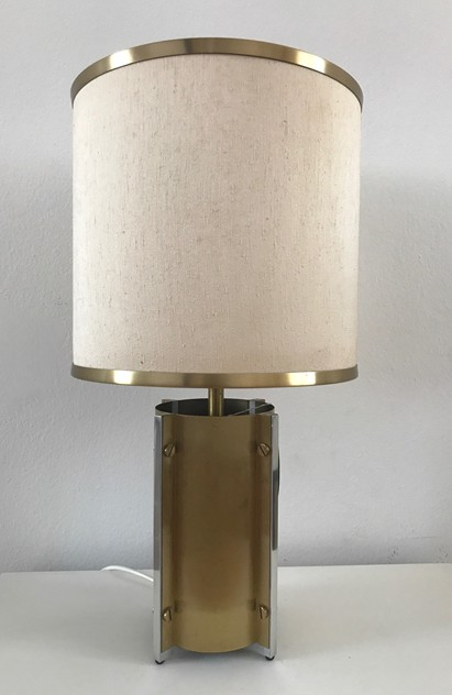 1970s Pair Table Lamps by Sciolari-Roma-moioli-gallery-lampade Sciolari ottone coppia 2_main_636397021168752087.jpg