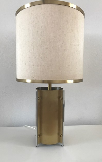 1970s Pair Table Lamps by Sciolari-Roma-moioli-gallery-lampade Sciolari ottone coppia 3_main_636397024506075223.jpg
