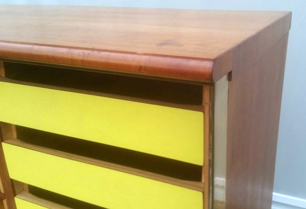 1950's Amazing Cupboard/Chest of Drawers-moioli-gallery-mobile ufficio formica gialla max.3_main_636169707254632453.JPG