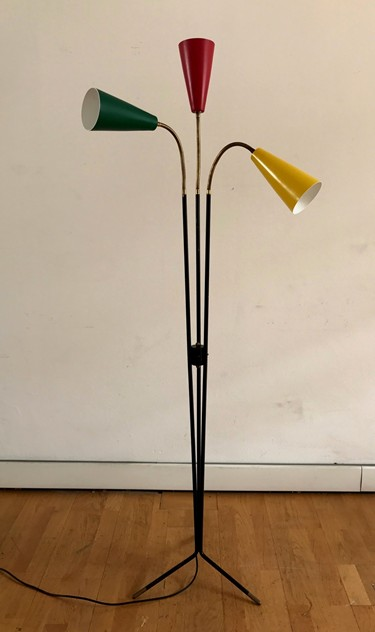 1950s Three  Cones  Floor Lamp by Stilux-moioli-gallery-piantana 3 coni massimo 2_main_636435006038970222.jpg