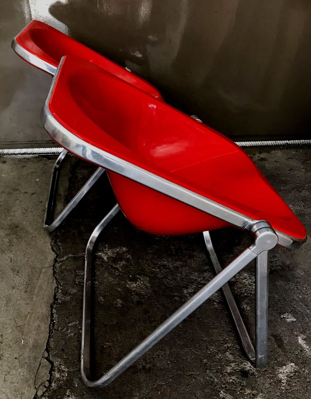 1960s Plona Folding Armchair in Red acrylic-moioli-gallery-plona rosse 1-main-636597732009772767.jpg