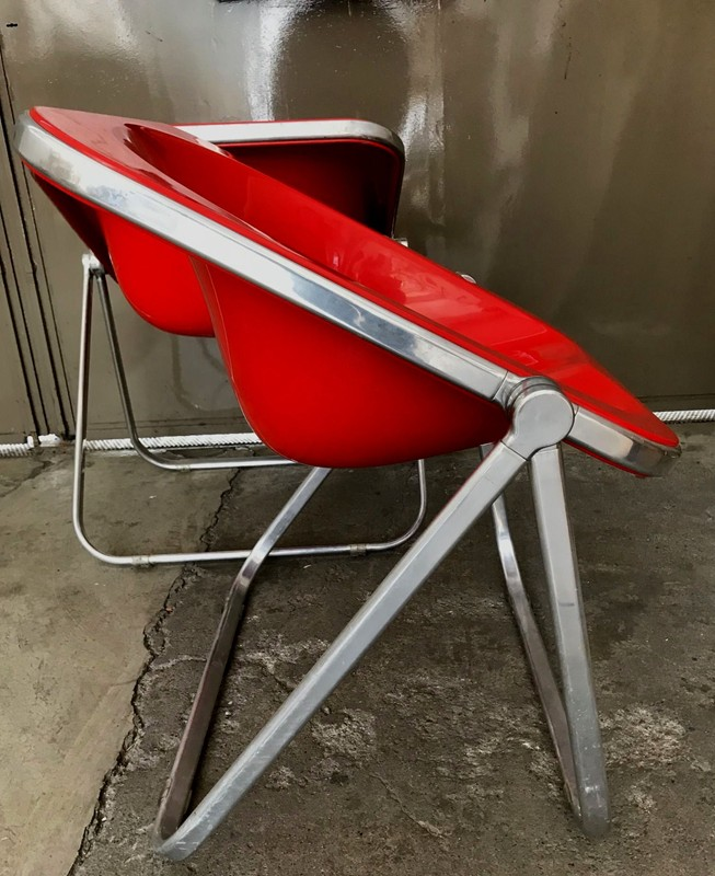 1960s Plona Folding Armchair in Red acrylic-moioli-gallery-plona rosse 6-main-636597733456278943.jpg