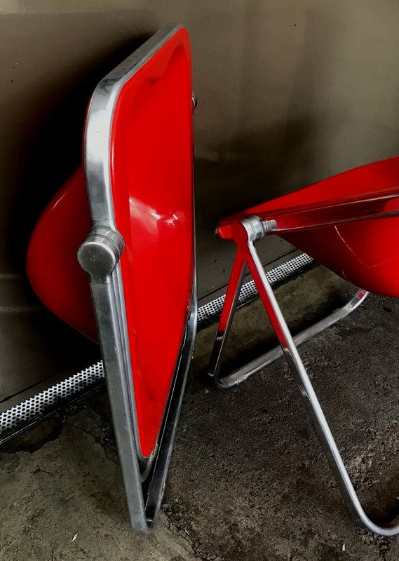 1960s Plona Folding Armchair in Red acrylic-moioli-gallery-plona rosse 8-main-636597732329121143.jpg