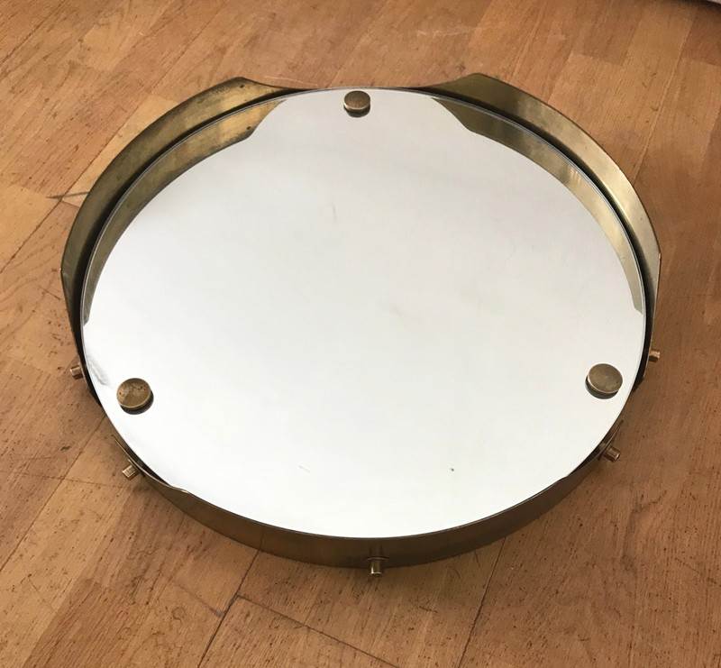 1950s Round Mirror in Brass -moioli-gallery-round 50s mirror brass 3-main-636712358691900105.jpg