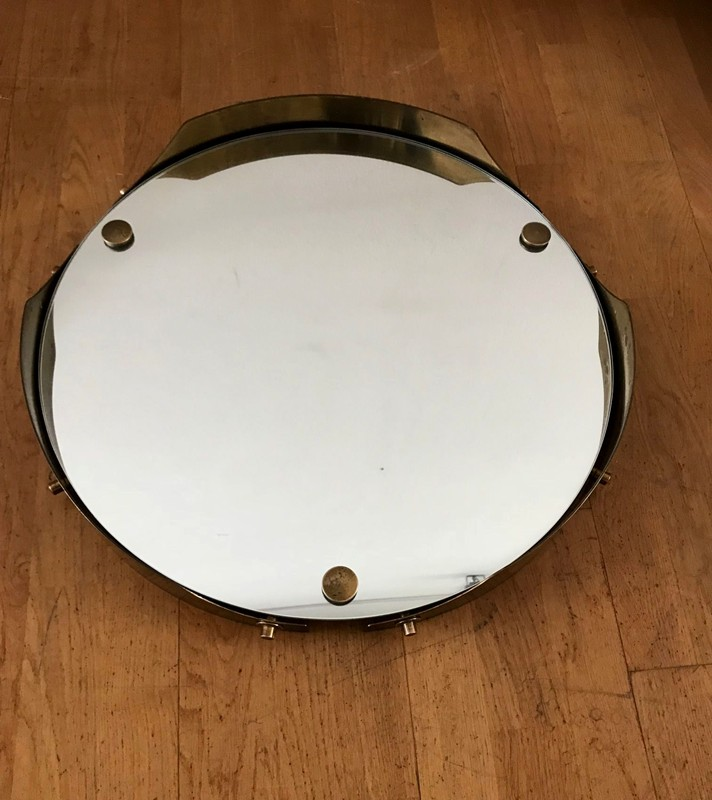 1950s Round Mirror in Brass -moioli-gallery-round 50s mirror brass-main-636712358458824153.jpg