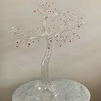 Sakura -Large Glass  Sculpture by Simone Crestani