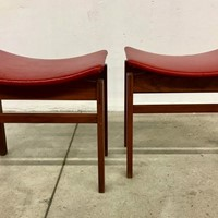 Pair of 1960s Stools by Inger Klingenberg
