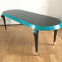 1984 Agrilo Rare Coffee Table by A.Mendini