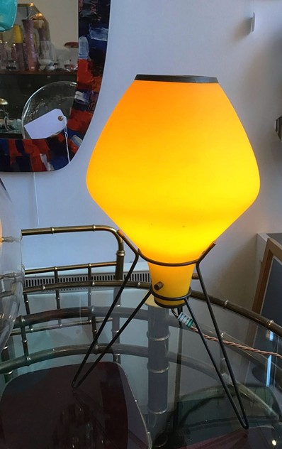 1950's Yellow Glass Table Lamp-moioli-gallery-yellow 50s table lamp_main_636213852931788893.JPG