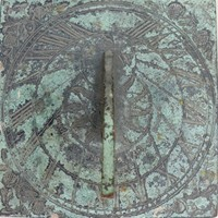 Arts and Crafts sundial plate