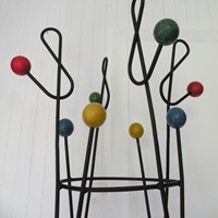 1950s atomic  coat stand by Roger Feraud