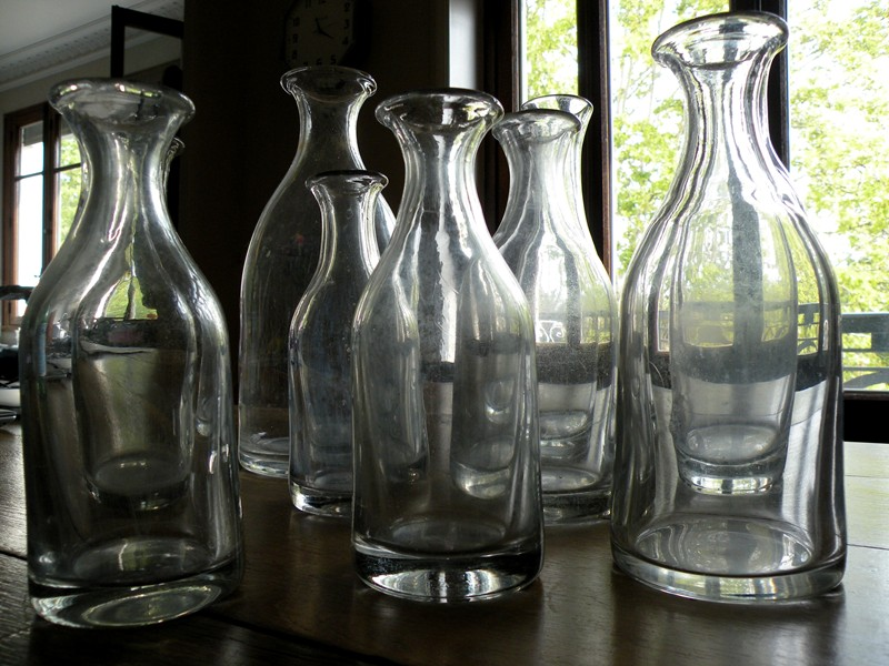 Collection of 9 french cider carafes -mountain-cow-DSCN0986-main-636714106346109788.jpg
