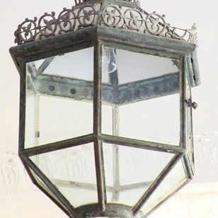 A Fine Pair of  English hanging   lanterns