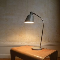 A Bauhaus period desk lamp