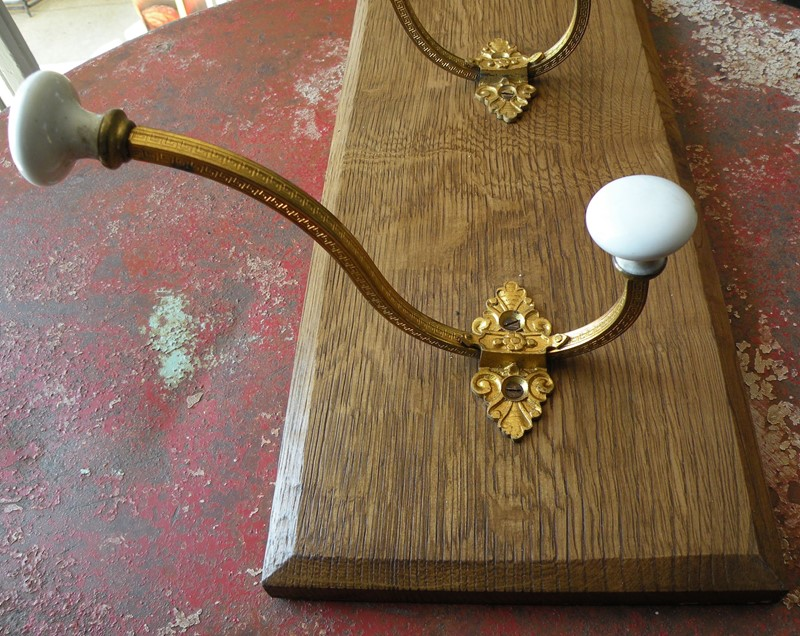 4 French gilt brass and porcelain coat hooks-mountain-cow-dscn2192-main-636910220553805609.jpg