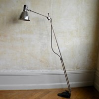 Mid century articulated floor lamp