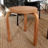 An early Alvar Aalto 3 legged model 60 stool