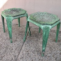 pair of Multipl's stools by Joseph Mathieu